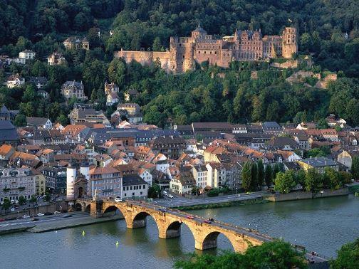 В германии очень красивая природа
