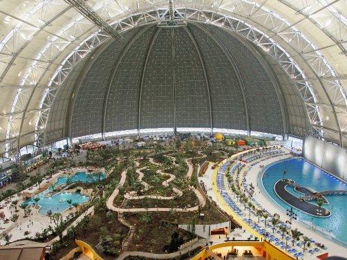 аквапарк в Германии