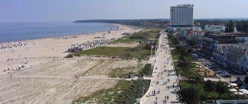 один из пляжей Германии