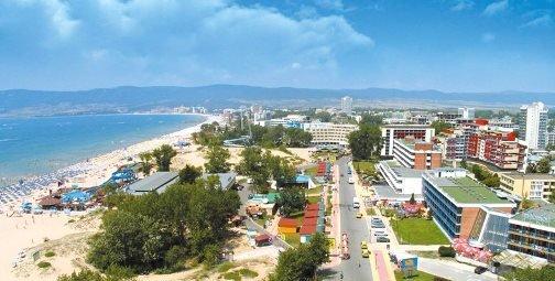 курорт на побережье Солнечный Берег