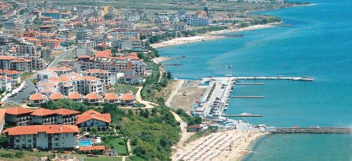 побережье курорта Святой Влас