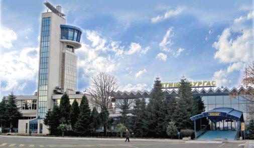 новый терминал в аэропорте Бургас