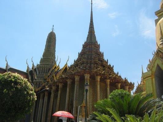 монастырь Люмпо Сот Дхаммакаярам в Тайланде