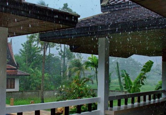 погода в сезон дождей в Тайланде