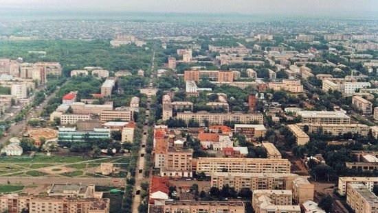город Петропавловск, Казахстан