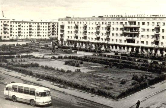 площадь Куйбышева в Петропавловске