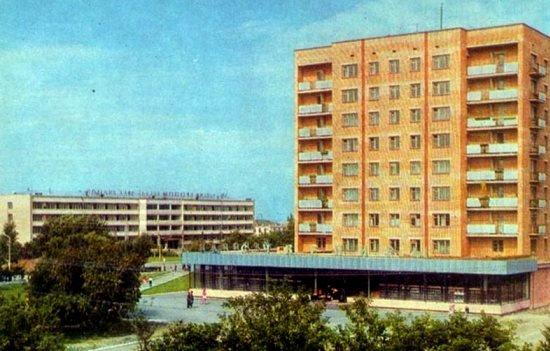 Петропавловск советских времен