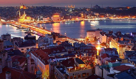 Стамбул в декабре