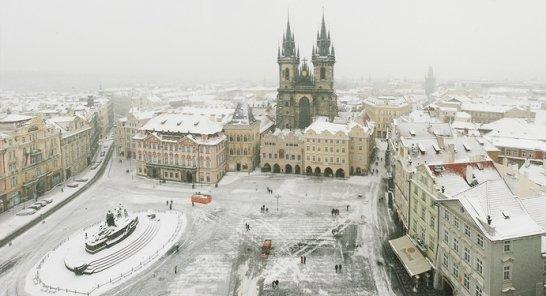 Староместская площадь в декабре