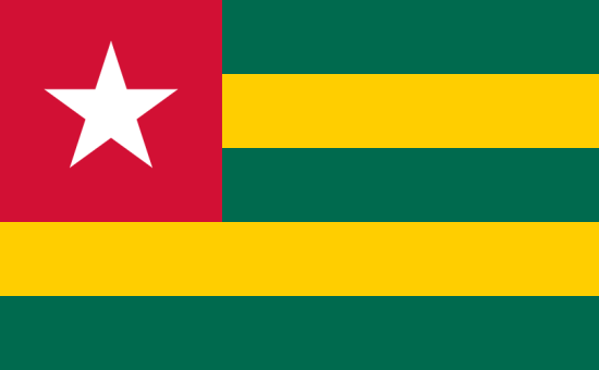 флаг Того