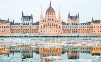 Венгрия зимой