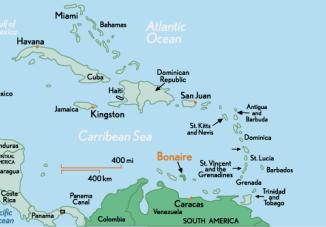 Карта Бонэйра