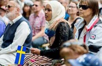 Беженцы в Швеции и в Европе