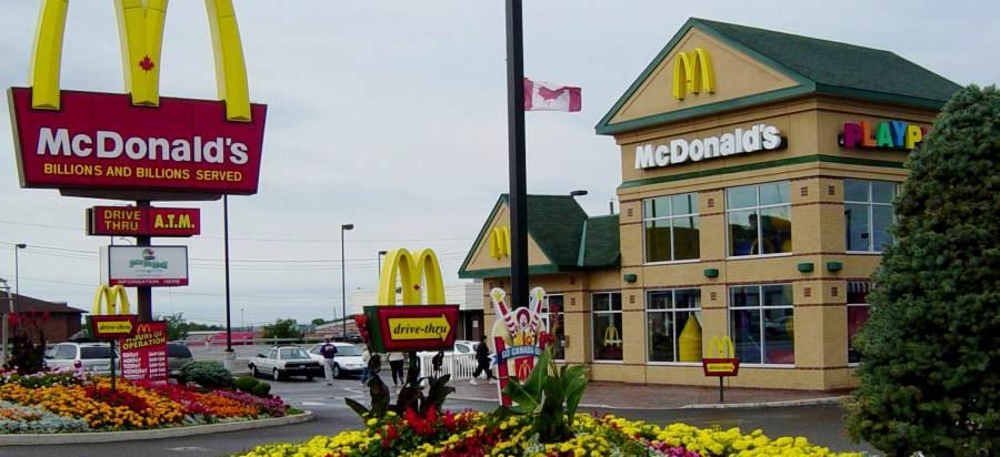 работа в Макдональдс в Канаде