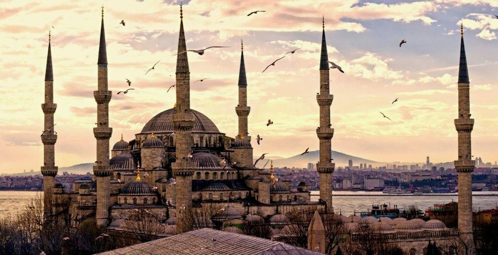 Стамбул, город в Турции