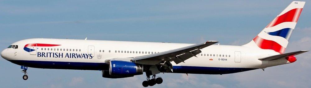 Авиакомпания British Airways (Британские Авиалинии)