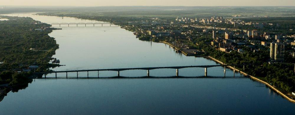 река Кама в Пермском крае