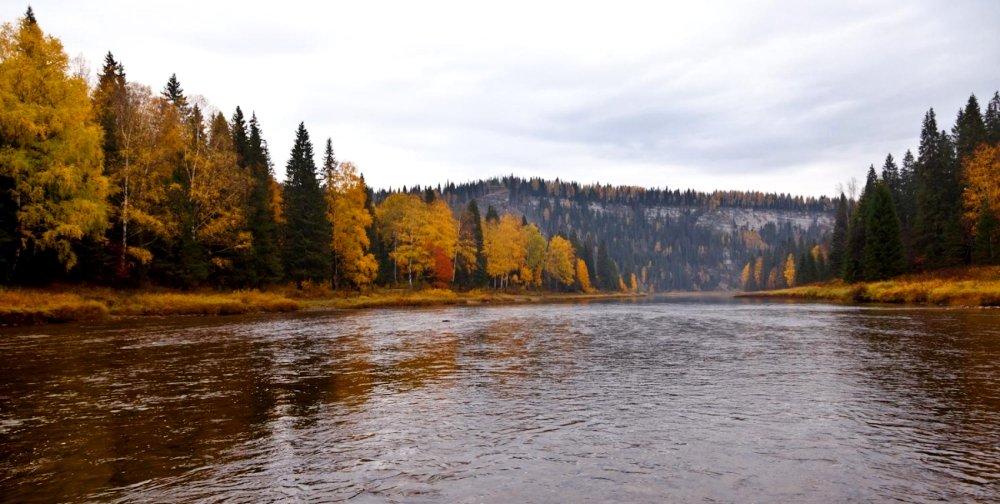 пермская река Усьва