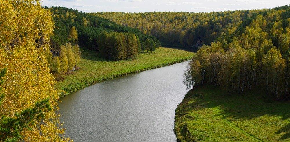 все реки Свердловской области