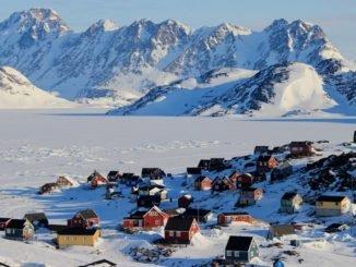 Климат области материкового оледенения Гренландии