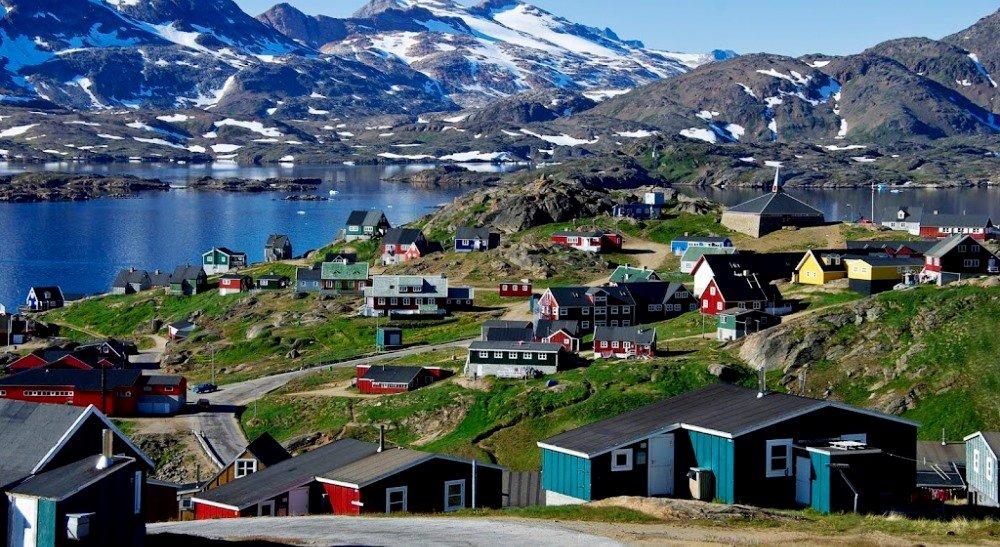 Гренландия, остров и страна