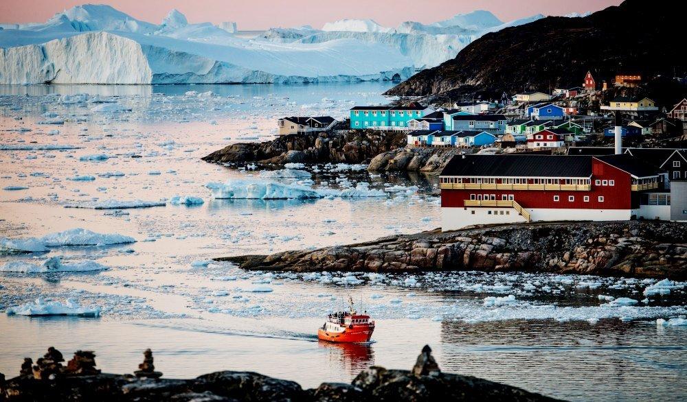Новые исследования Гренландии