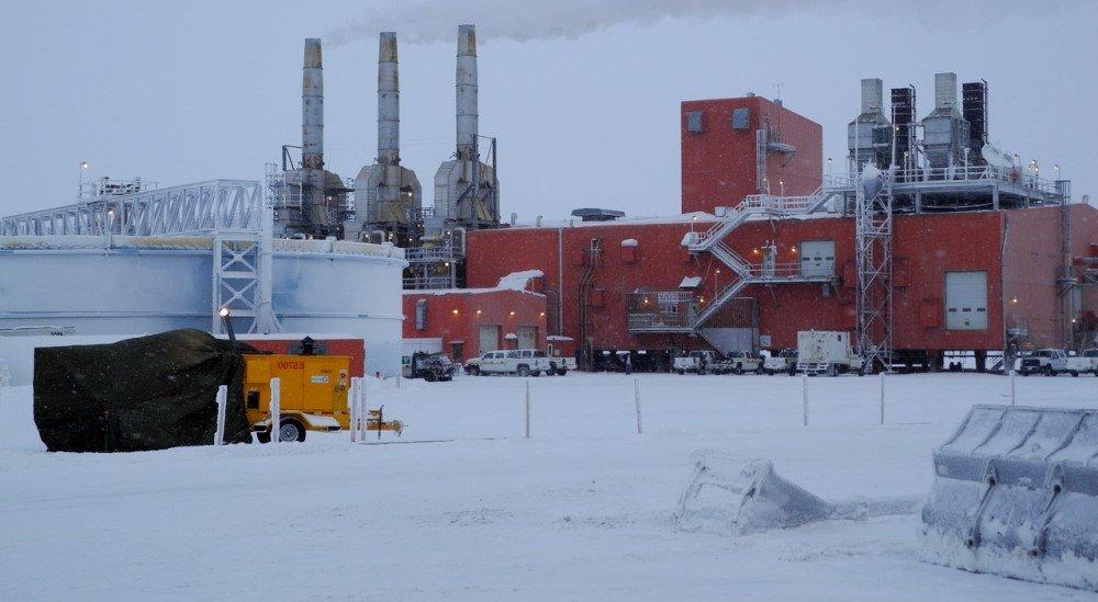 Нефть в Арктической зоне Западного полушария