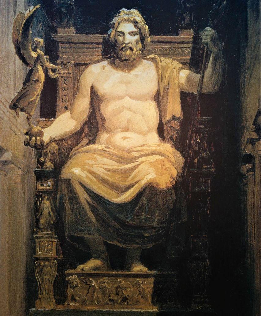 Зевс из древнегреческой мифологии