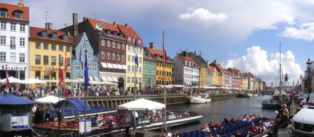 цены в Дании в рублях, евро и долларах