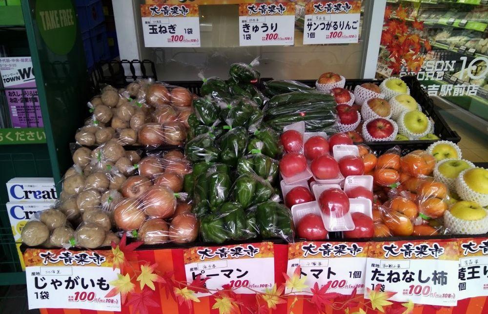 цены в Японии в Токио