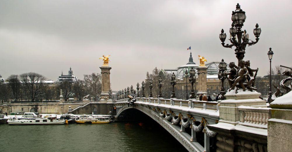 Франция - популярное зимнее направление в Европе