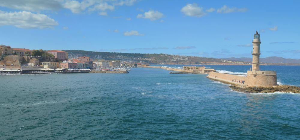 Крит, море