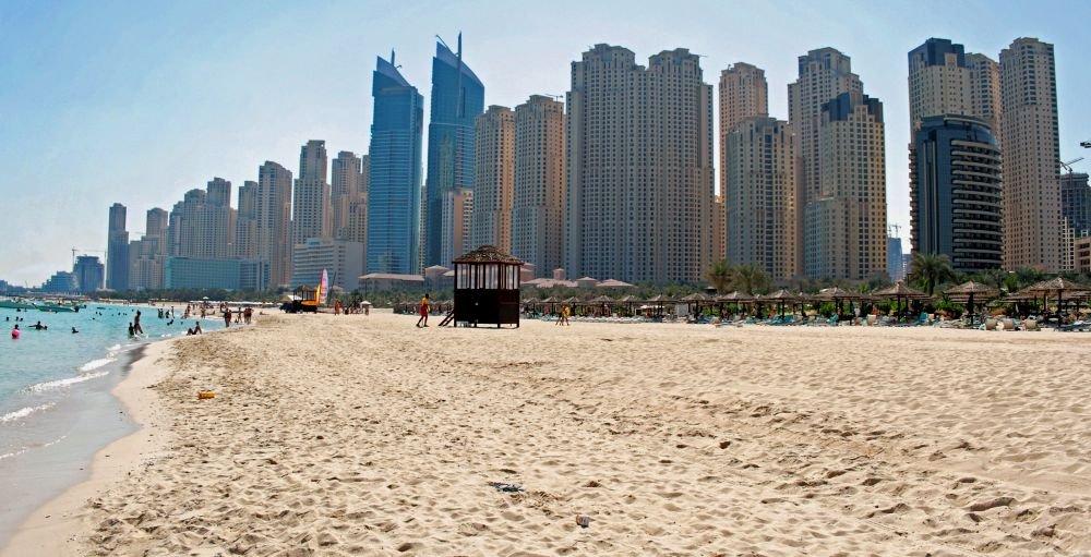 отдых с ребенком на море в ОАЭ