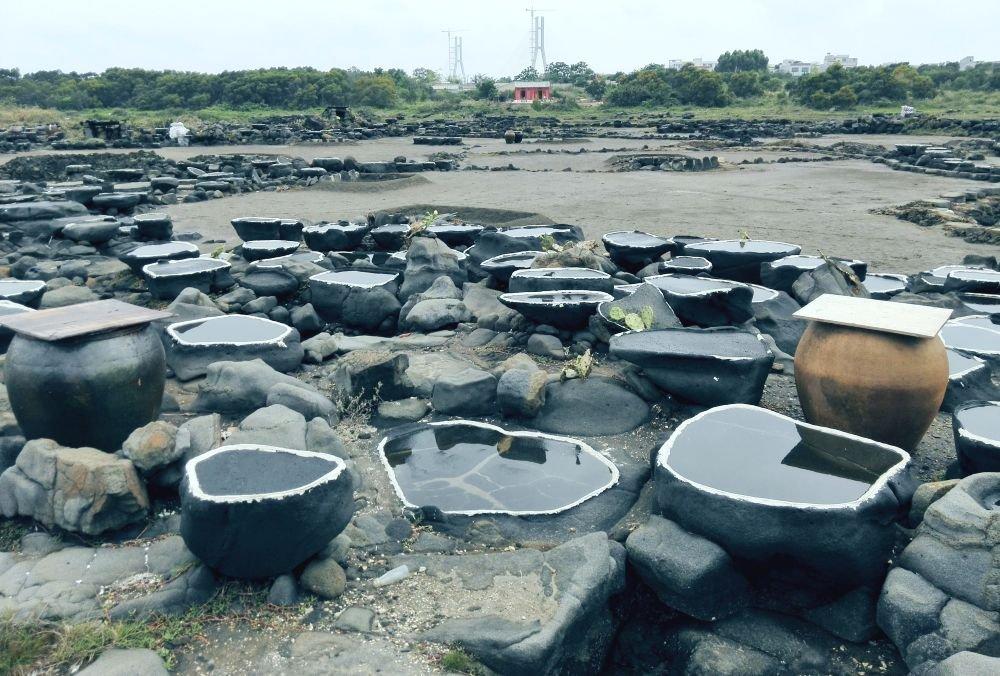 The Yangpu Ancient Salt Field