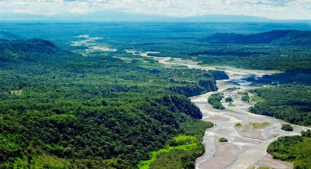 река Амазонка и джунгли