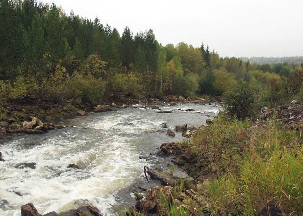 река Серебряная